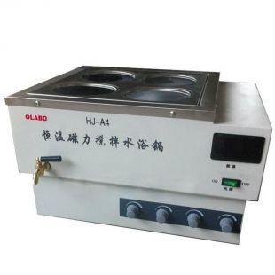 欧莱博磁力搅拌恒温水浴锅 HJ-A4