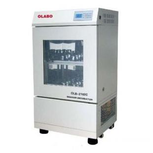 歐萊博雙層小容量空氣浴搖床OLB-2102C(制冷型)