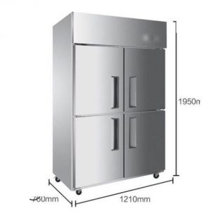 四門冷藏冷凍防爆冰箱
