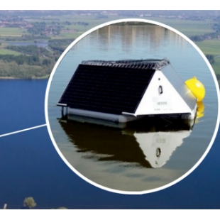 MPC超声波藻类治理、监测浮标