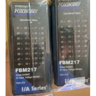 FBM217福克斯波羅FOXBORO控制器