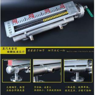 侧装式磁翻板液位计4-20mA远传输出