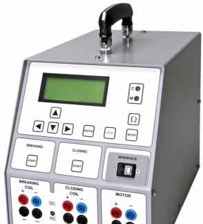 瑞典DV POWER SAT40A断路器线圈分析仪