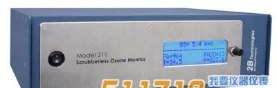 美国2B Model 211 无洗刮臭氧检测仪
