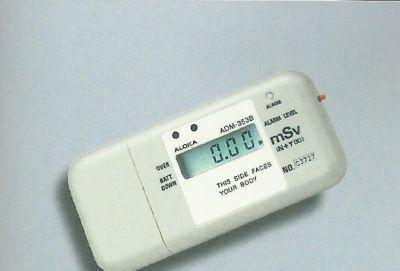 日本ALOKA ADM-353B高剂量γ、中子个人剂量计及报警仪