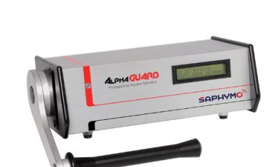法国SAPHYMO ALPHAGUARD P2000F脉冲电离室测氡仪