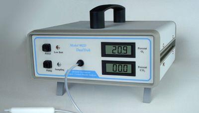 美国Quantek Model 902D 氧气和二氧化碳顶空气体分析仪