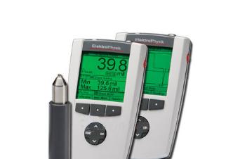 德国EPK MINITEST 7400FH瓶壁测厚仪