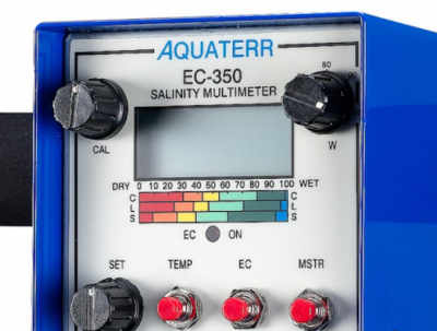 美国Aquaterr EC-350土壤水分盐分温度速测仪