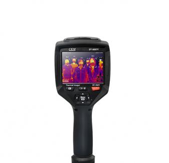 DT-9897Y AI智能人脸识别温度筛查热像仪