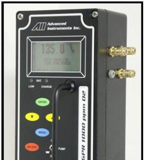 美国AII GPR-1000便携式氧气分析仪
