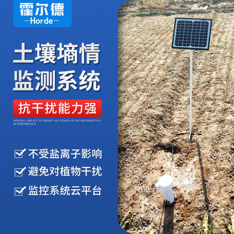 霍尔德 无线远程多层立体土壤墒情监测仪 HED-TDR2
