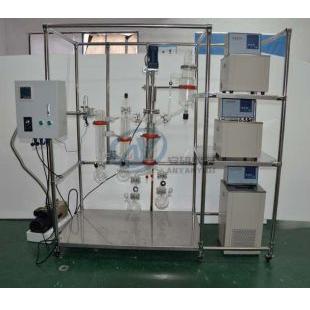 分子蒸馏仪高硼硅玻璃AYAN-F80内径80mm