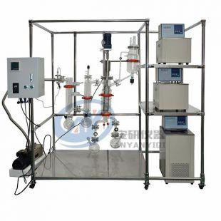 短程刮膜传热快分子蒸馏设备AYAN-F150