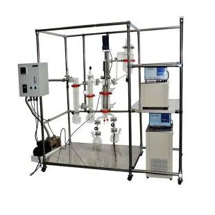 分子蒸馏仪AYAN-F80四氟垫片材质耐腐蚀