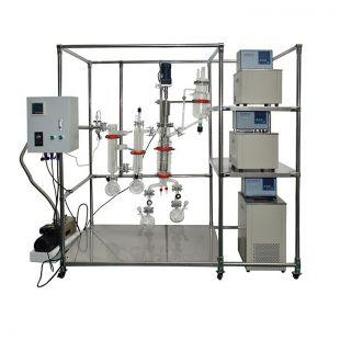 刮膜短程传热快分子蒸馏设备AYAN-F150