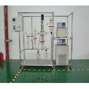 短程蒸馏仪刮膜传热快分子蒸馏设备