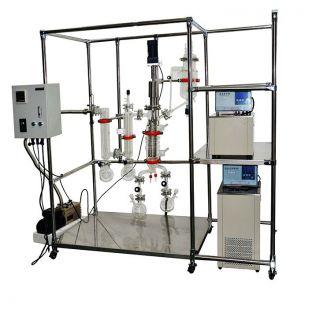 精油提纯分子蒸馏仪 316薄膜蒸发器 AYAN-F100