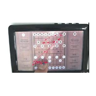 可用性手指轨迹测试系统