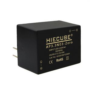 高能立方AC-DC电源模块3.3v3W小功率