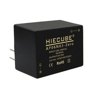 AC/DC隔离电源模块220V转6V3W