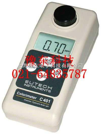 C401便携式防水型余氯/总氯测量仪