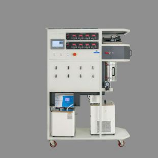 科幂仪器   八气一液高温常压催化剂评价装置