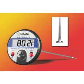 Traceable™超大显示屏表盘式温度计