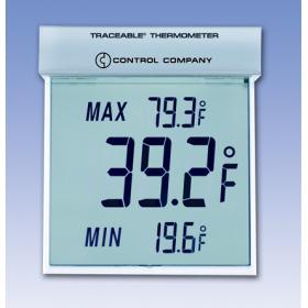 Traceable™Big-Digit See-Thru™大数字透明温度计