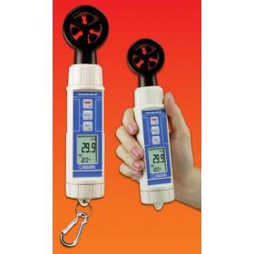 Traceable™风速计,带温度/湿度/结露点和气压计