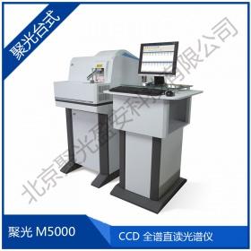 聚光FPI 台式CCD光谱仪 国产金属分析 M5000