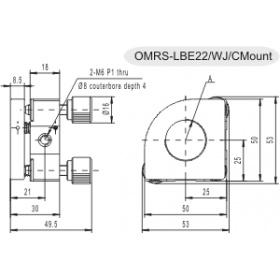 專用調整架OMRS-LBE22/WJ/CMount
