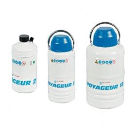 WIGGENS VOYAGEUR铝制生物制品冻存运输罐