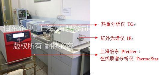 Pfeiffer 在线质谱分析仪与红外光谱仪和热重联用