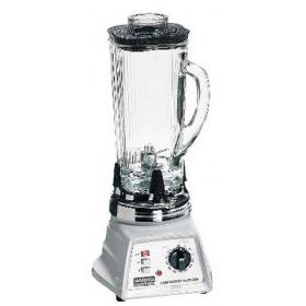 Waring 1升玻璃罐体带定时器两速组织捣碎机