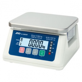 A&D艾安得 SJ-3000WP防水桌面秤
