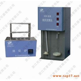 蛋白质测定仪KDN-08C采用公认的氮法原理