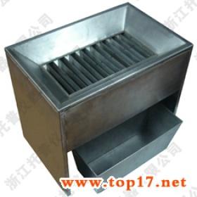 不锈钢横格式分样器,格槽式分样器,横格式双分器
