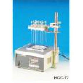 HGC-12A干浴加热氮吹仪  12孔干式氮吹仪 上海