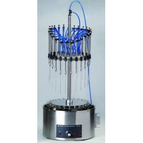 HSC-12B水浴圆形加热氮吹仪/HSC-24B/24孔/流量可调型水浴氮吹仪