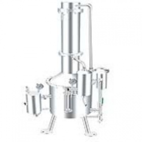 SHZ32-50不锈钢塔式蒸汽重蒸馏水器