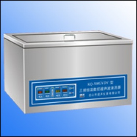 KQ-500GVDV/KQ-600GVDV数控双频恒温超声波清洗器/KQ-300GVDV台式双频