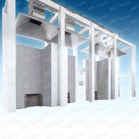 建筑外墙外保温系统窗口火试验装置