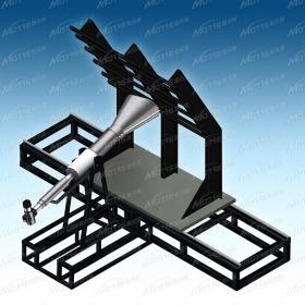 航空隔热隔音材料火焰穿透测试仪