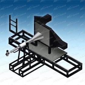 航空电气连接件燃烧测试仪