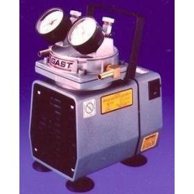 Gast无油隔膜真空泵/美国Gast DOA-P504-BN无油隔膜真空泵(货号:DOA-P50