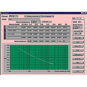 SOFT-QTM热导仪-薄膜试样测定用软件