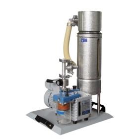 VACUUBRAND 带前置冷阱的油封旋片泵系统