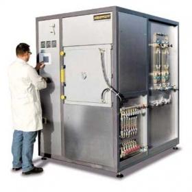 高温真空炉/带石墨、钼或MoSi2加热元件的高温真空炉VHT