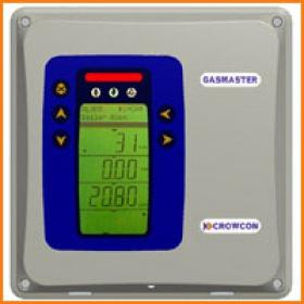 CROWCON四通道壁挂式气体检测系统